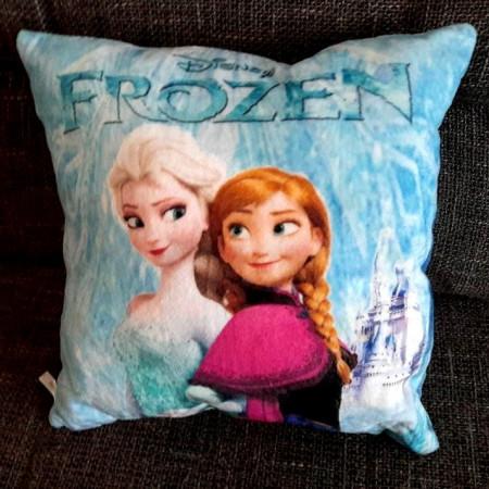 Slika Frozen plišani jastuk sa Elsom i Annom