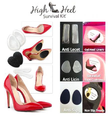 Slika High Heel Survival Kit - Set uložaka za udobniju obuću