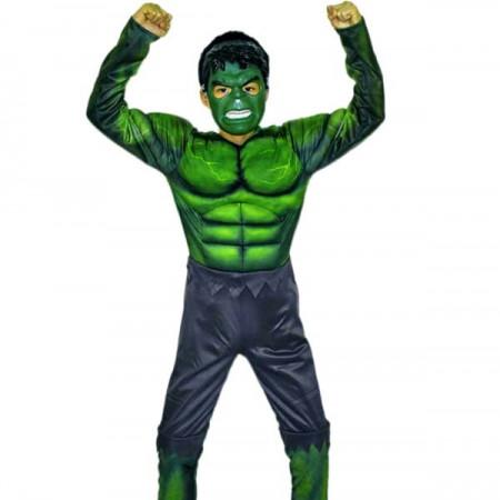 Kostim Hulka sa mišićima i maskom