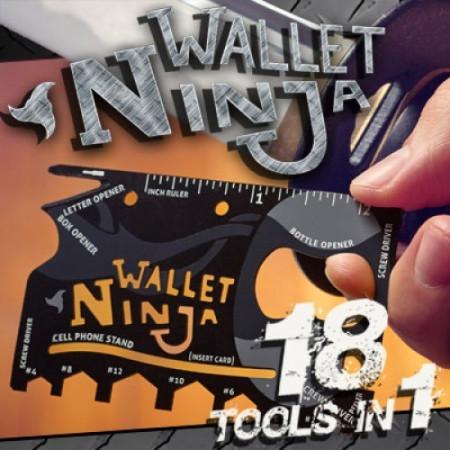 Slika Ninja Wallet 18 u 1 multifunkcionalna alat kartica za sve