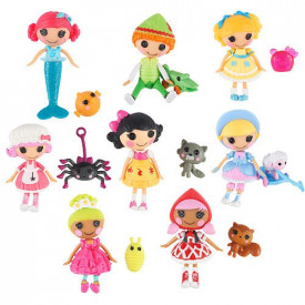Lalaloopsy mini set lutkica sa ljubimcima