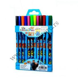 Malci komplet od 12 flomastera u boji