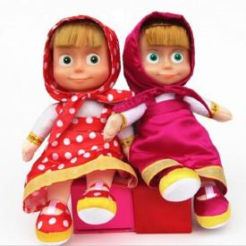 Maša i Meda plišane muzičke lutke