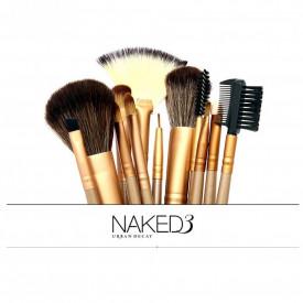 Naked set od 12 profesionalnih četkica za šminkanje