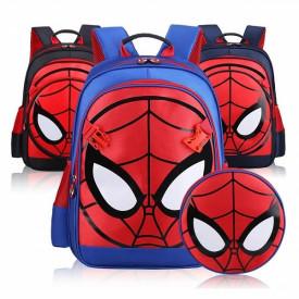 Spiderman dečiji školski ranac + torbica za rame