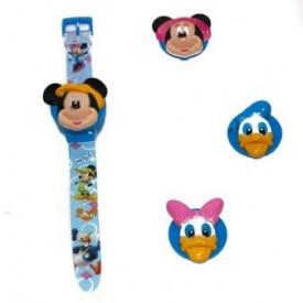 Dečiji satovi sa Disney junacima. Digitalni sa tri zamenljiva Flip on poklopca