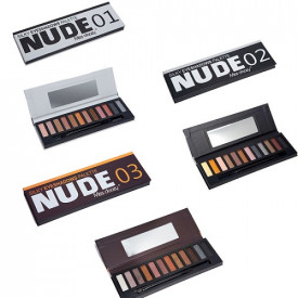 Miss doozy profesionalne palete senki - Nude 1, Nude 2, Nude 3