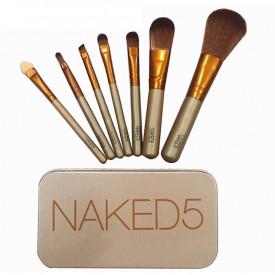 Naked set od 7 profesionalnih četkica za šminkanje