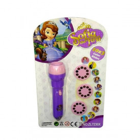 Princeza Sofija baterijska lampica projektor slika omiljenih junaka