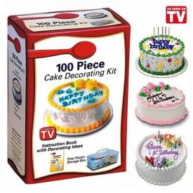 Set od 100 delova za ukrašavanje torti