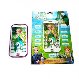 Frozen Fever 4D interaktivni telefon za decu na engleskom jeziku