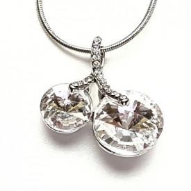 Ogrlica sa kristalnim trešnjama - Swarovski elements