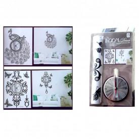 Dekorativni stiker zidni satovi sa mehanizmom