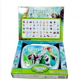 Frozen Fever dečiji laptop za učenje engleskog i španskog jezika