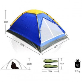 Kamperski šatori za 2, 4 ili 6 osoba