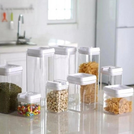 Vakum posude za čuvanje hrane 300ml, 450ml, 550ml i 800ml