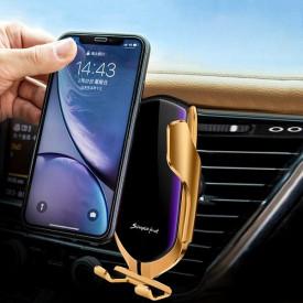 2u1 pametni Auto držač sa senzorom i Bežični punjač za telefon
