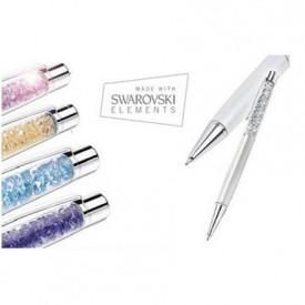 Hemijske olovke sa kristalima za pisanje po papiru ili touch screen ekranu