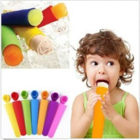 Lolly silikonski kalupi za sladoled sa poklopcem