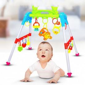 Viseće igračke za bebe na prenosivom ramu sa 12 melodija