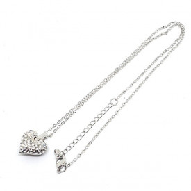 Crystal Heart ogrlica srce sa cirkonima
