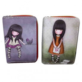 Gorjuss novčanici sa likovima popularnih devojčica u nekoliko prelepih dezena