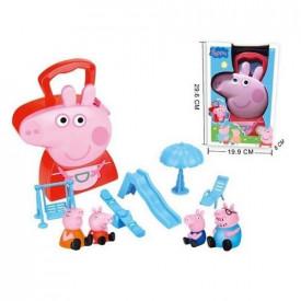 Pepa Prase koferče sa igračkama