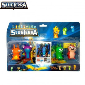 SlugTerra pakovanje od 4 figurice
