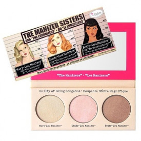 The Manizer Sisters Luminizer Paleta by Balm Cosmetics!