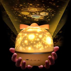 Magična projektor lampa sa 6 različitih tema