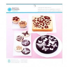 Marta Stjuart šabloni za dekorisanje torti, mafina i drugih poslastica