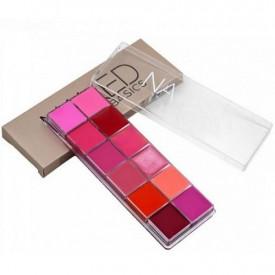 Naked karmini i sjajevi za usne - paleta od 12 boja