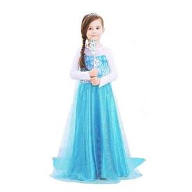Frozen raskošna haljina kostim princeza Elsa
