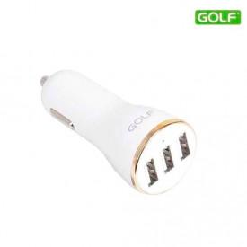 GOLF auto punjač 3 x USB 3.4A