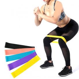 Komplet od 5 elastičnih Tuber traka za vežbanje