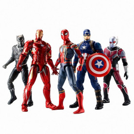 Marvelove Akcione Figure - Hulk, Spiderman, Ironman.