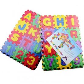 Mekane mini puzle za igru sa slovima i brojevima