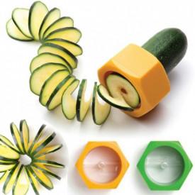 Spiralni rezač za krastavac i drugo povrće