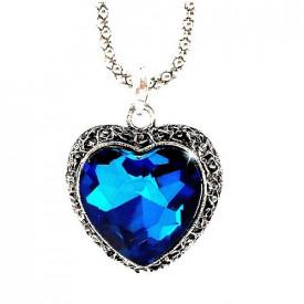 Srce okeana vintage ogrlica sa Swarovski elements kristalom