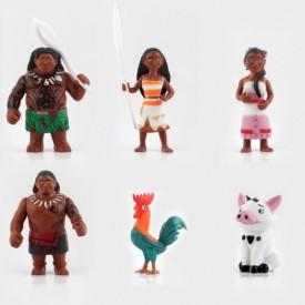 Vajana set od 6 akcionih figura