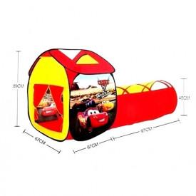 Cars dečiji sklopivi šator tunel
