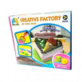 Kreativni set sa plastelinom za pravljenje rodjendanskih torti