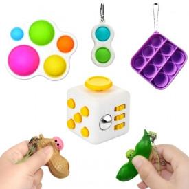 Popularni mini fidžeti Popit, Cube, Beans, Dimple...