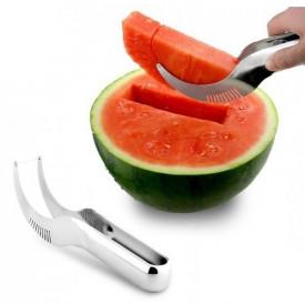 Zakrivljeni nož za sečenje lubenice i dinje