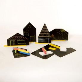 ArchiGrafitti – set od 6 piši/briši kućica