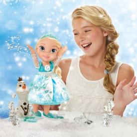 Frozen Elsa devojčica i Sneško Olaf