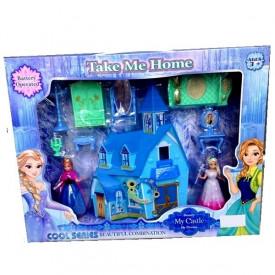 Frozen Elsa i Anna kuća sa svetlosnim i zvučnim efektima