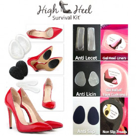 High Heel Survival Kit - Set uložaka za udobniju obuću