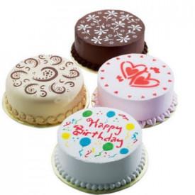 Komplet od 4 velika šablona za dekorisanje torti