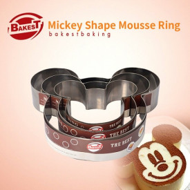 Mickey Mouse set od 3 kalupa od inoxa